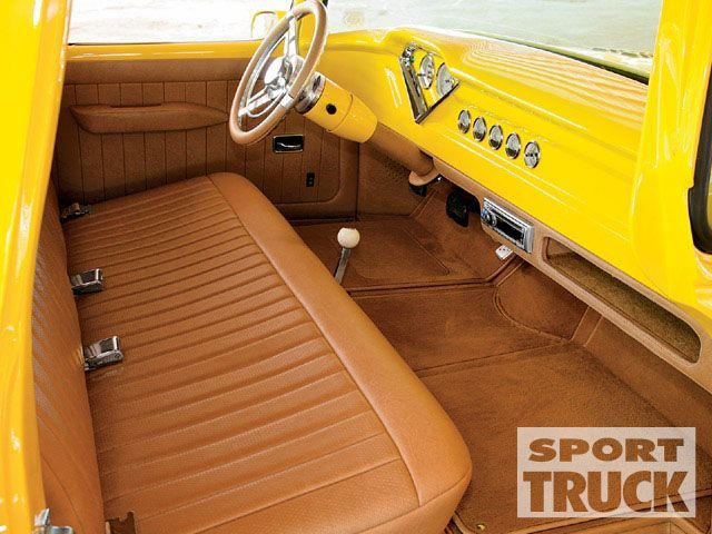 1955 Chevy Fleetsidetruck Custom Classic Pickup Sport Truck