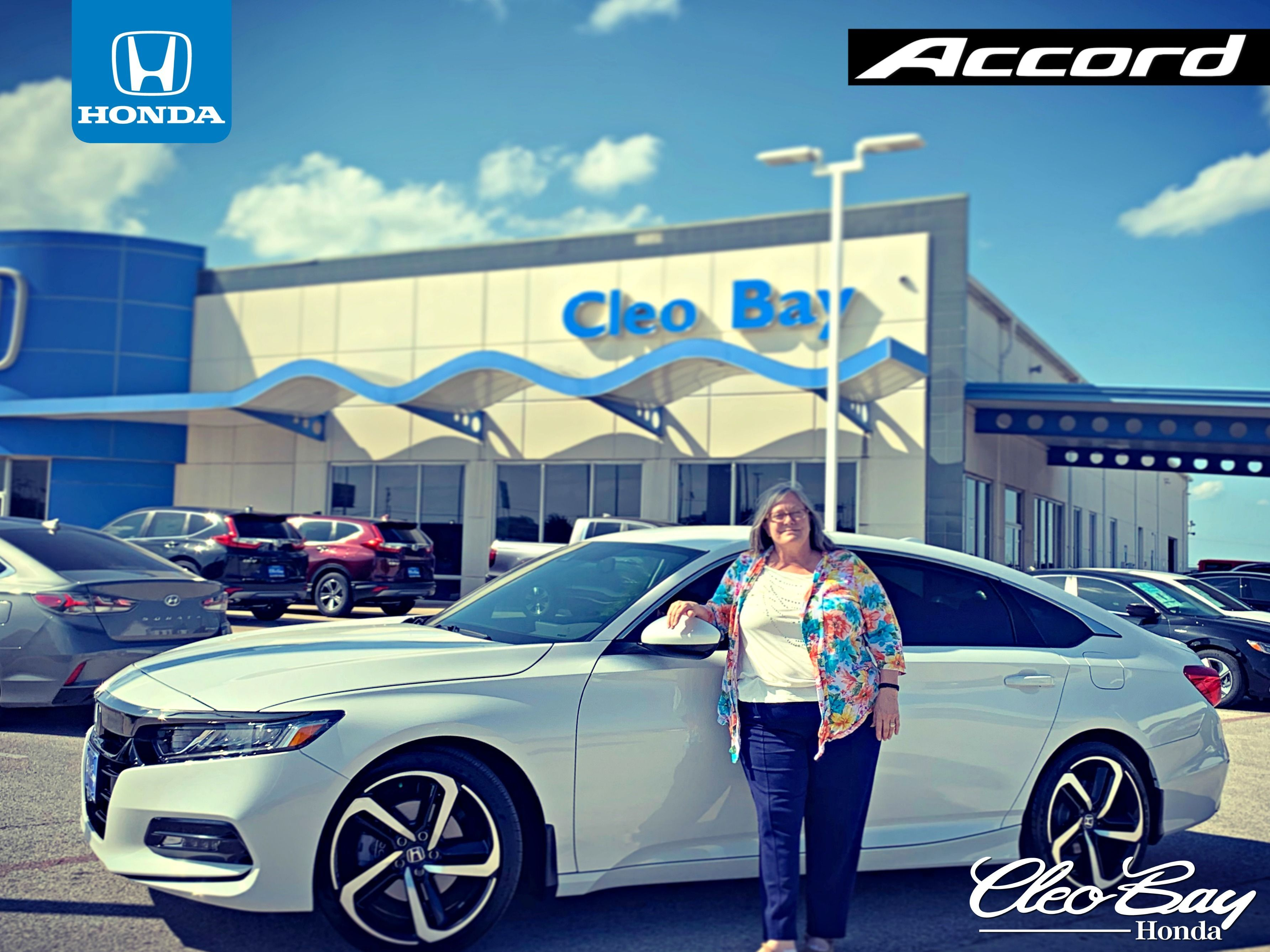 Congratulations Barbara on your recent purchase of a NEW