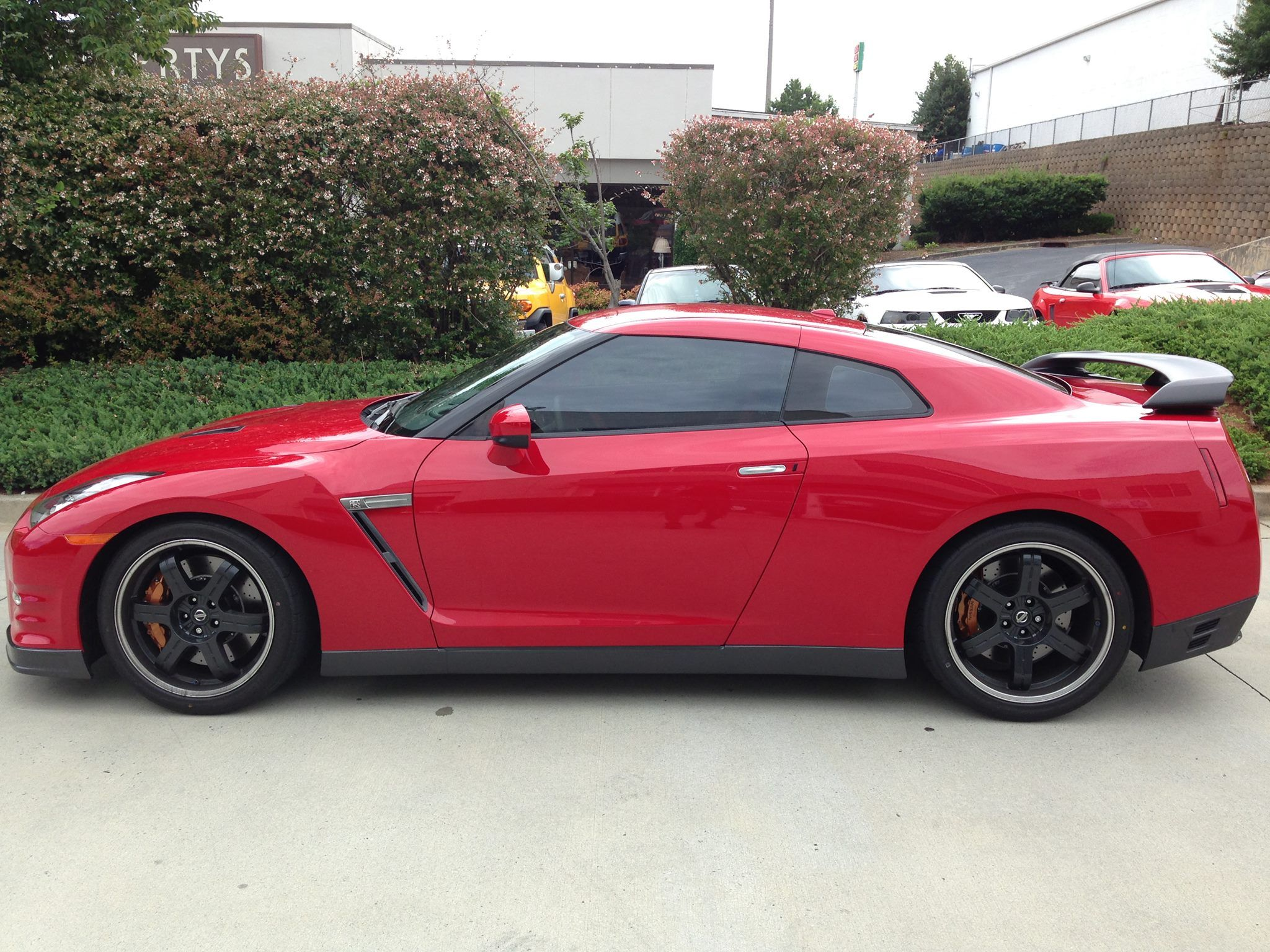 window tinting marietta ga nissan gtr with beautiful 3m crystalline window tint film installed by hot spot tinting in marietta ga nissan