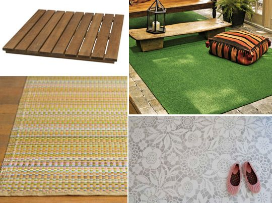 4 Ideas For Sprucing Up That Patio Floor Rainbows N My