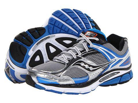 167b5496f7 Saucony Stabil CS3 Silver/Blue/Black - Best shoes for overpronation ...