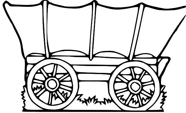 Covered Wagon Bulletin Board Google Search Lds Clipart Clip