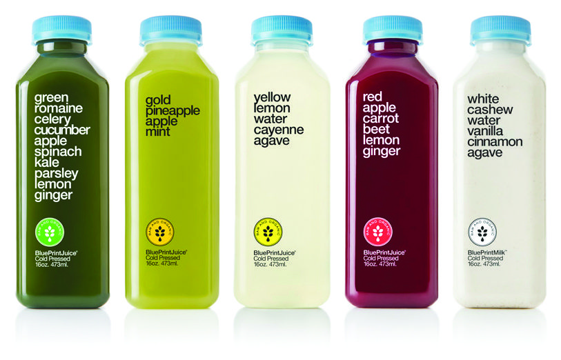 Pre-Summer Detox with BluePrint juices from Whole Foods Market or - new blueprint cleanse green