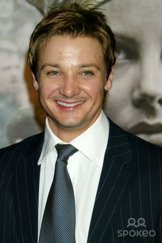 """Photo by: NPX/starmaxinc.com 2005. 10/10/05 Jeremy Renner at the premiere of """"North Country"""". (Los Angeles, CA)"""