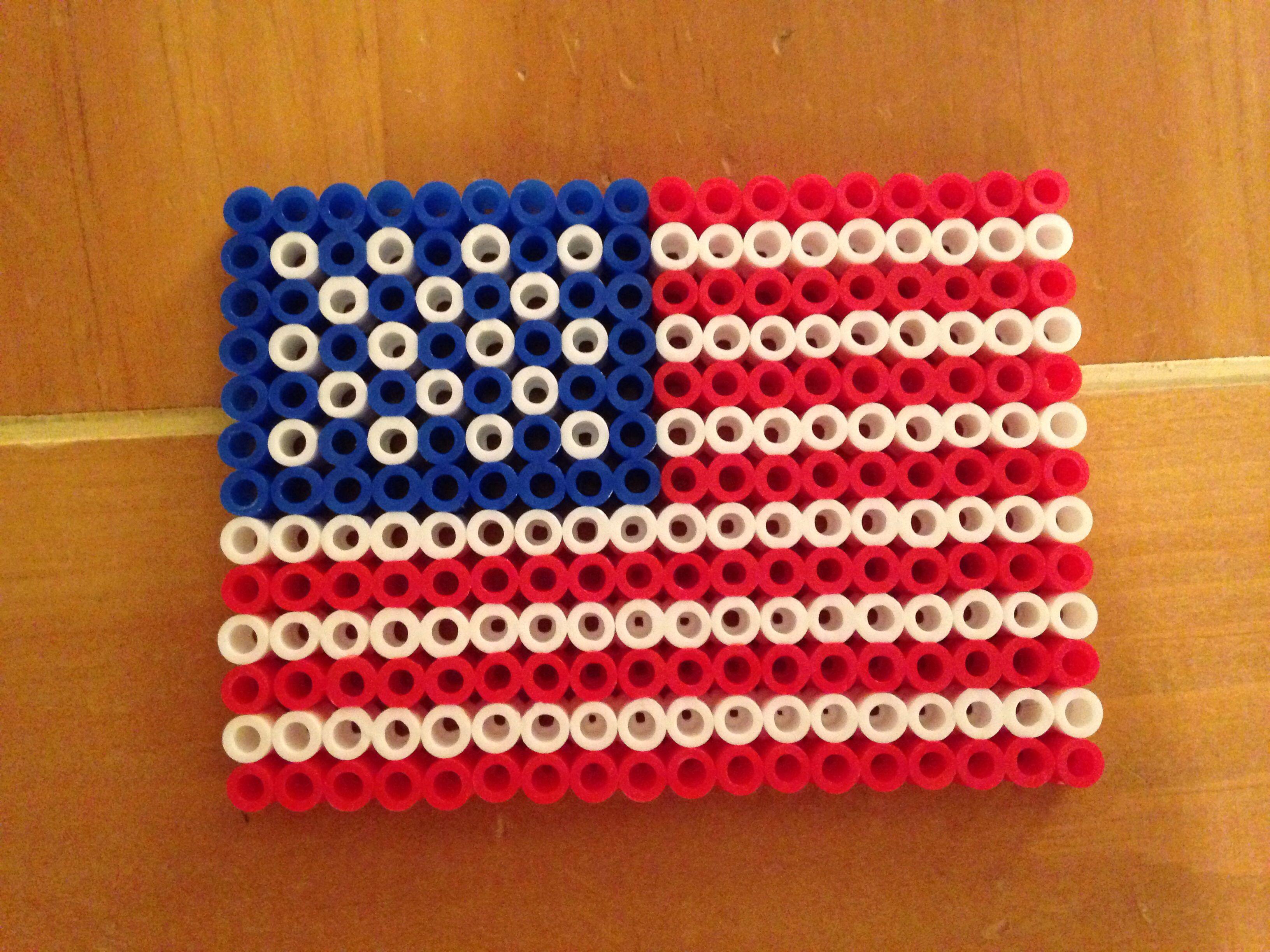 50 best perler flags images on Pinterest | Bead patterns, Perler ...