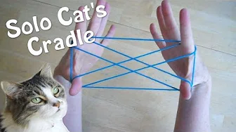 Solo Cats Cradle How to play with only one person! Step