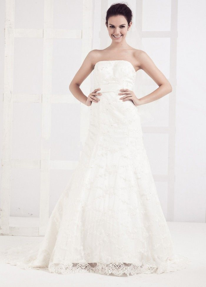 Lace Overlay A Line Empire Waist Wedding Dress 515 98 Cute Wedding Dress Wedding Dresses Lace Wedding Dress With Sleeves