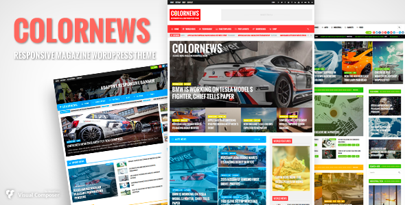 Download ColorNews - News/Magazine WordPress Theme Nulled ...