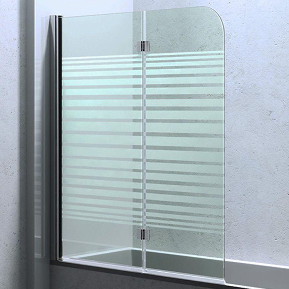 duschabtrennung duschwand f r badewanne aus glas badewannenfaltwand cortona1408s badezimmer. Black Bedroom Furniture Sets. Home Design Ideas