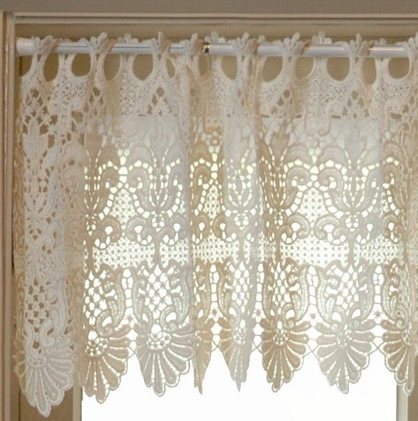 Macrame Curtains Rembrandt Ring Lace Curtains French Macrame Lace Window Treatments