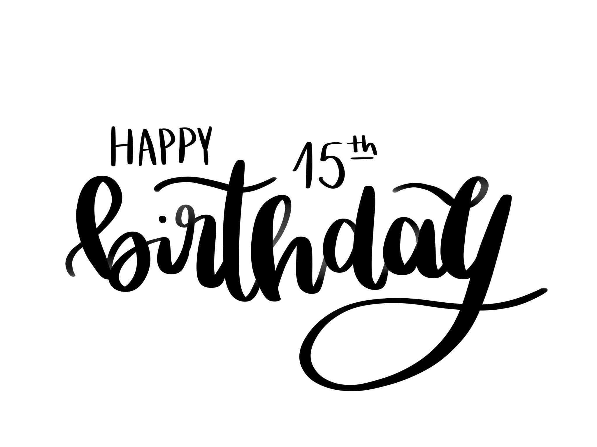 Happy Birthday Lettering Feliz Cumpleaños Letra Cumpleaños Letra Carteles De Feliz Cumple