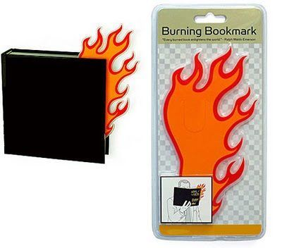 Burning bookmark