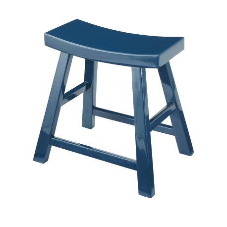 Lacquered stool, Signature  – CFOC