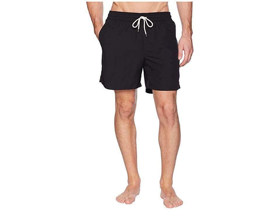 1315766ac0 Polo Ralph Lauren Traveler Swim Shorts (Polo Black) Men's Swimwear. When  you gear