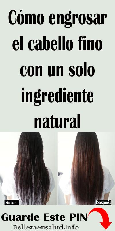ingredientes naturales para crecer el cabello