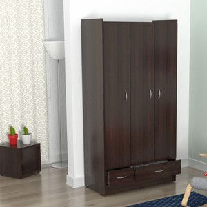 Inval Multistorage Espresso Wenge Armoire Accent