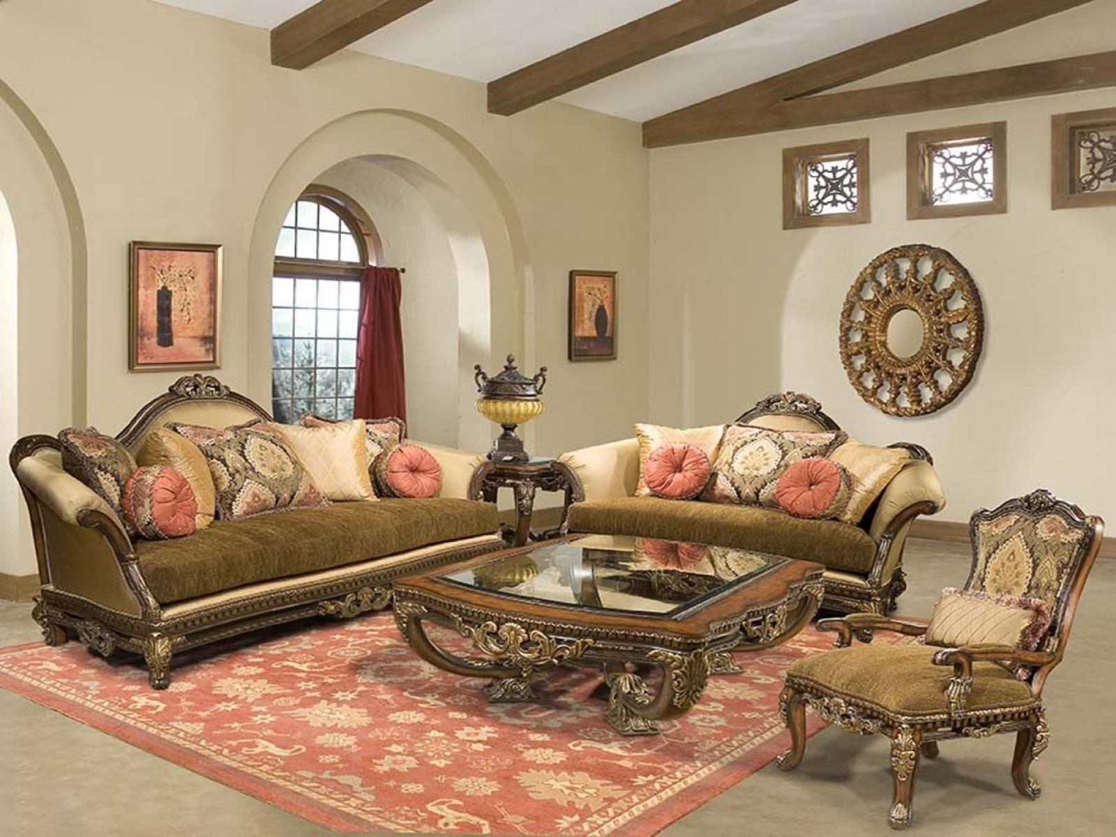 Cheap contemporary italian furniture living room 20