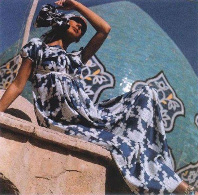 Vogue in Iran 1969