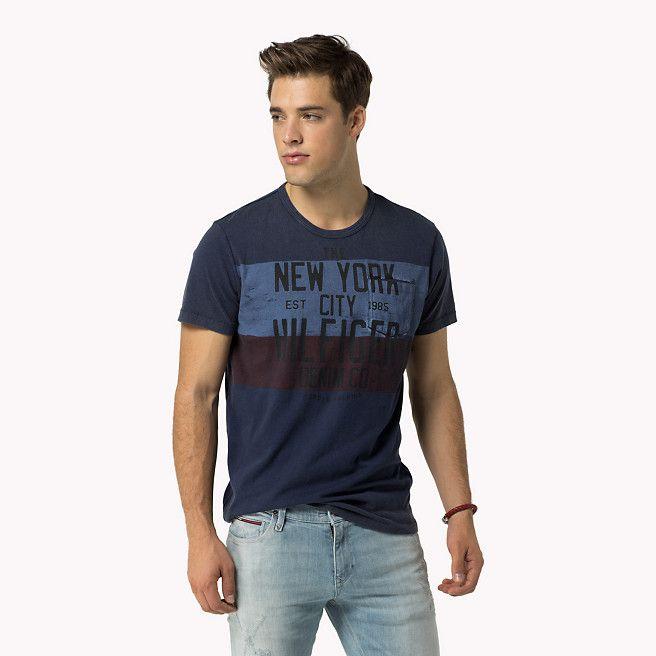 6ef2c6e3f377 Tommy Hilfiger Cotton T-shirt - navy blazer-pt (Blue) - Tommy Hilfiger  T-Shirts - main image