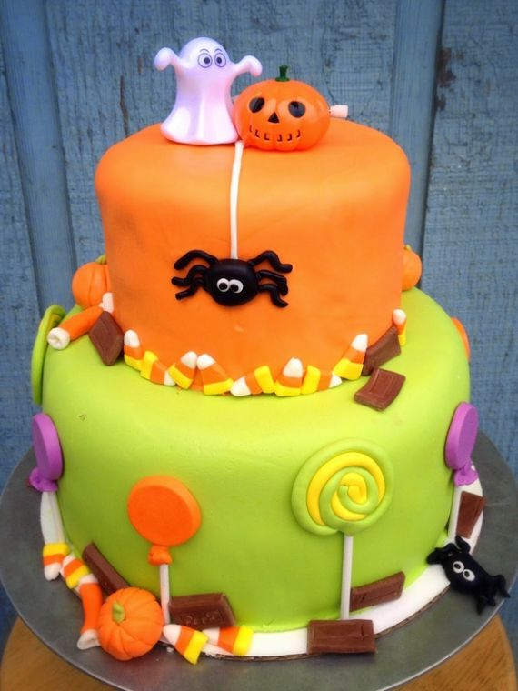 cute halloween cakes 37 cute non scary halloween cake decorations family holiday - Halloween Cakes Decorations