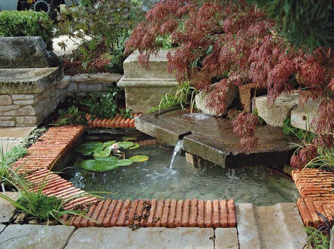 Visite des jardins du botrain bassin de jardin bassin - Profondeur d un bassin de jardin ...