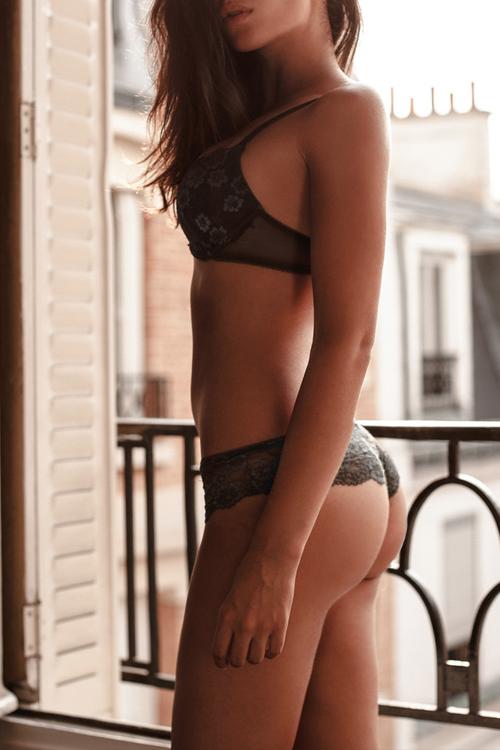 Sexy Girl in heisser Wäsche