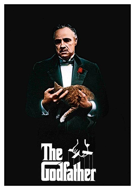 The Godfather Movie Poster, available at 45x32cm.This poster is printed on matt coated 350 gram paper.