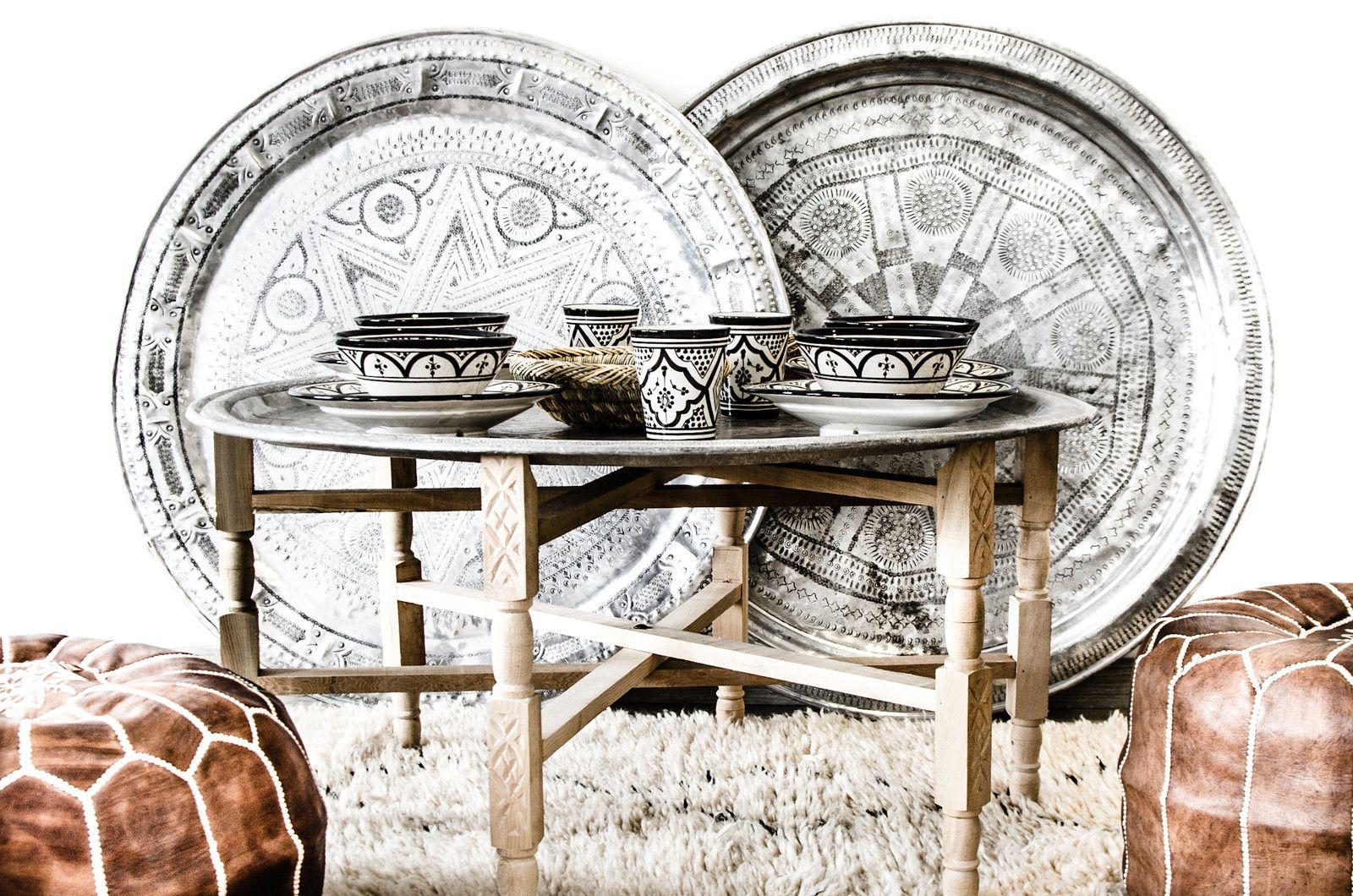 Marokkolaiset tarjottimet ja lautaset ovat kauden hittituote. #etuovisisustus #trendi #marokko