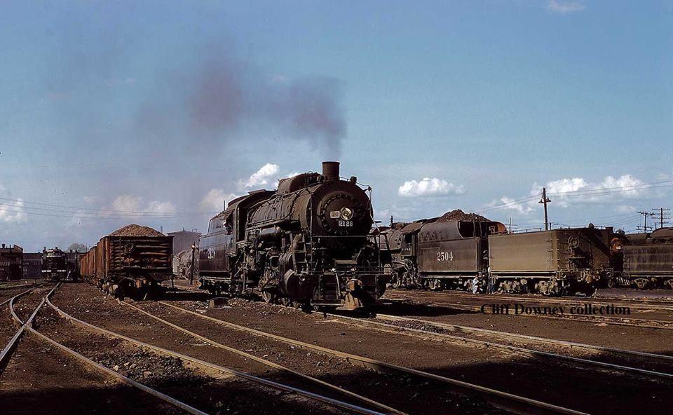 ICRR 2-8-2 locomotive #2128