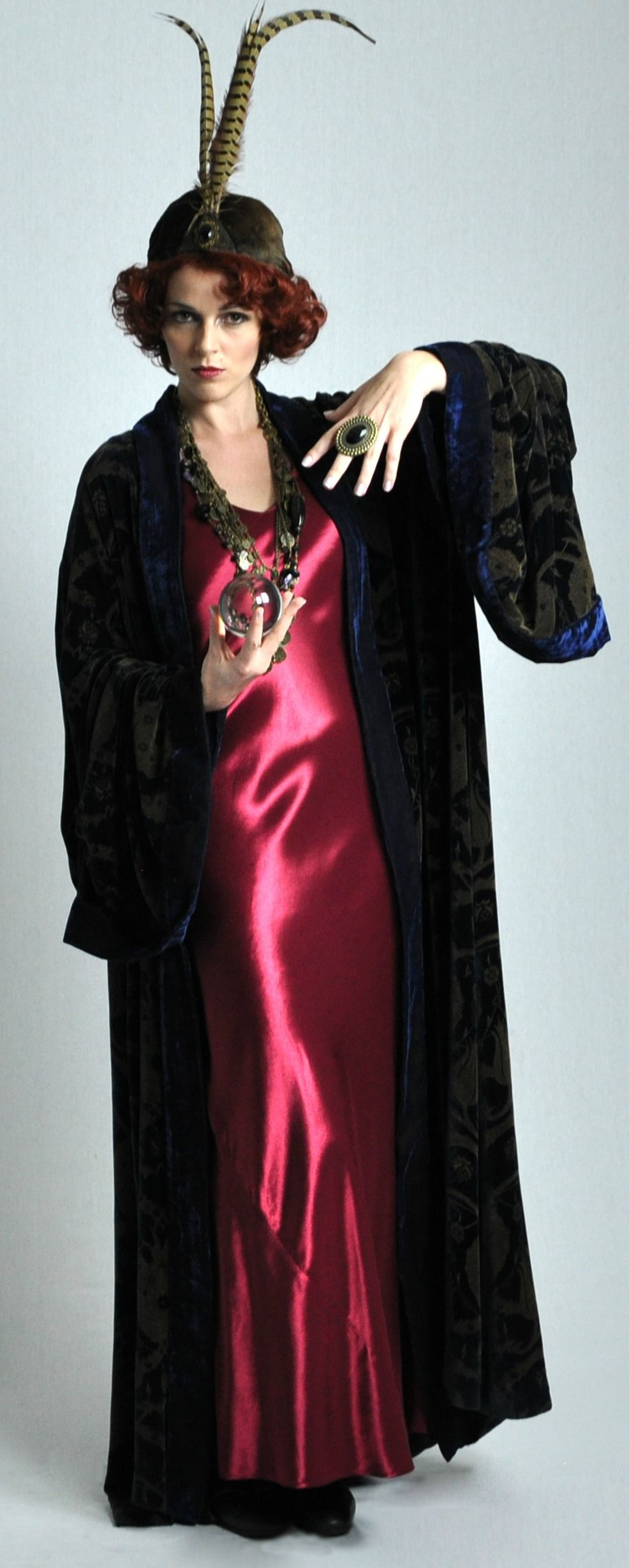 1920s inspired Fortune Teller, Halloween costume exclusive to The ...