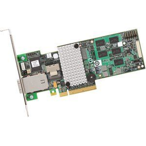 LSI Logic MegaRAID 9280-4i4e 8-port SAS RAID Controller (LSI00209) - by Lsi Logic. $841.23
