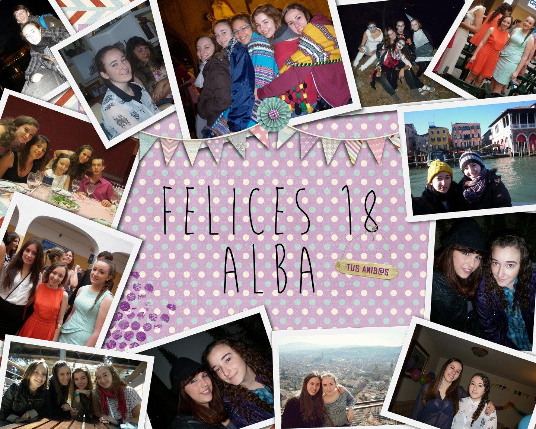 Cuadro collage cumplea os y fiestas pinterest cuadro for Collage de cuadros