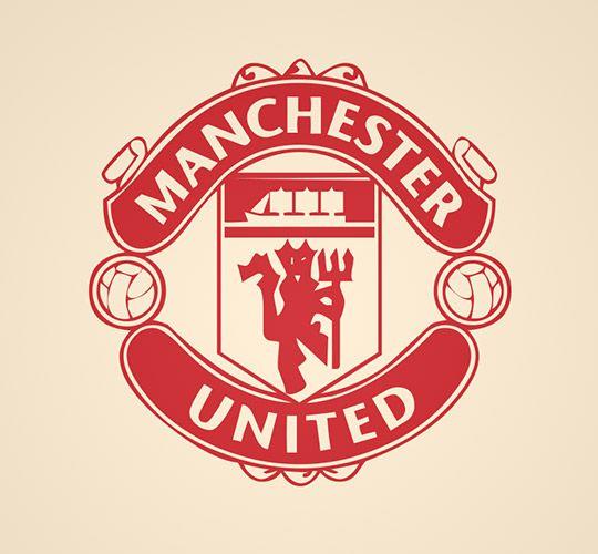 Manchester United FC Crest Wall Sticker Wall Stickers Man Utd Logo