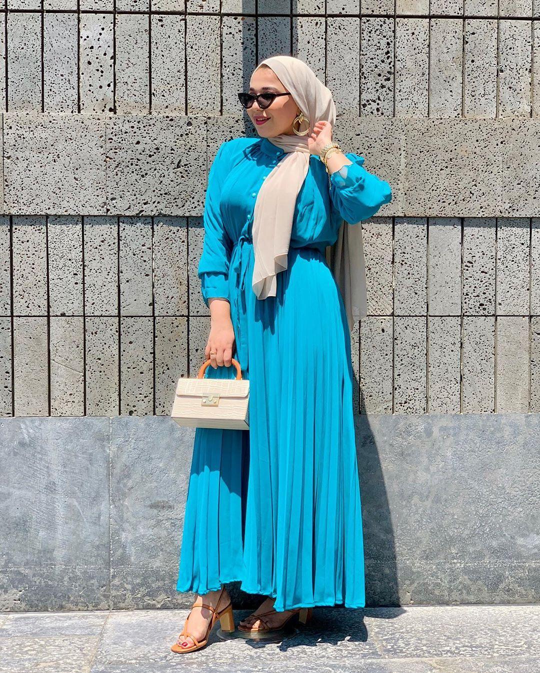 موديلات فساتين للمحجبات للخروج 2021 Fashion Hijab