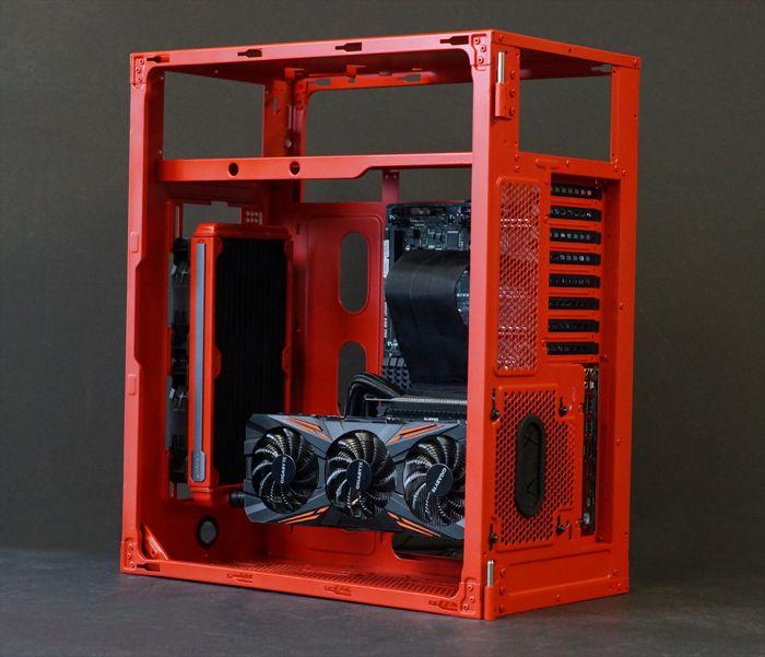 Star wars k 2so rogue one corsair 600c gaming pc case mod for Case modello artigiano