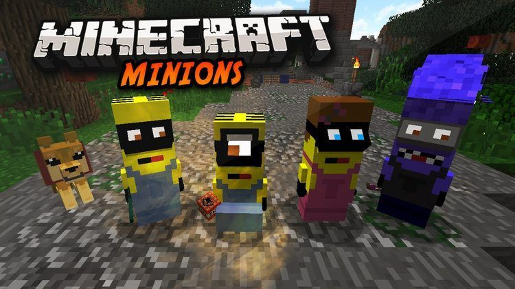Minions Mods For Minecraft 1 12 With Images Minecraft Minions