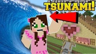 Minecraft: TSUNAMIS!!! (DISASTERS THAT DESTROY THE WORLD