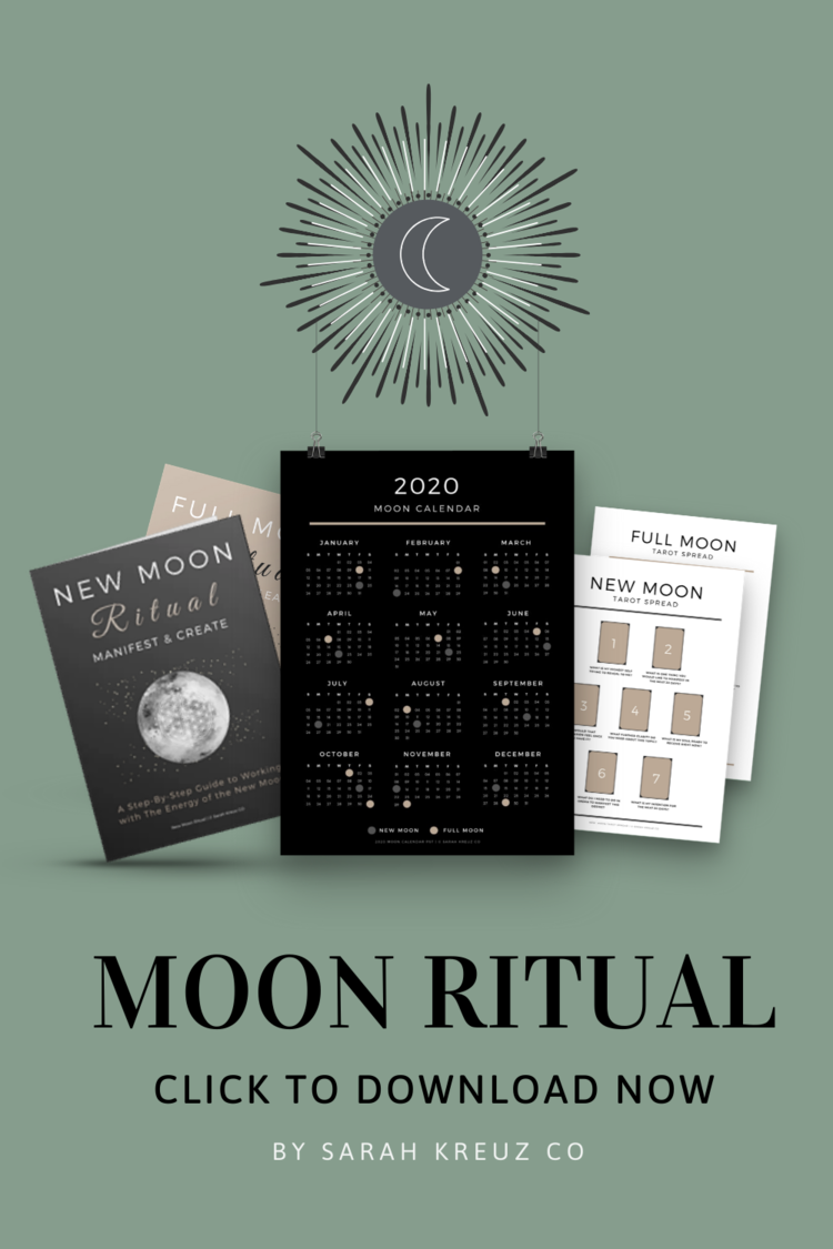 How to Plan a Full Moon Ritual (For Beginners) — Soul Design By Sarah Kreuz