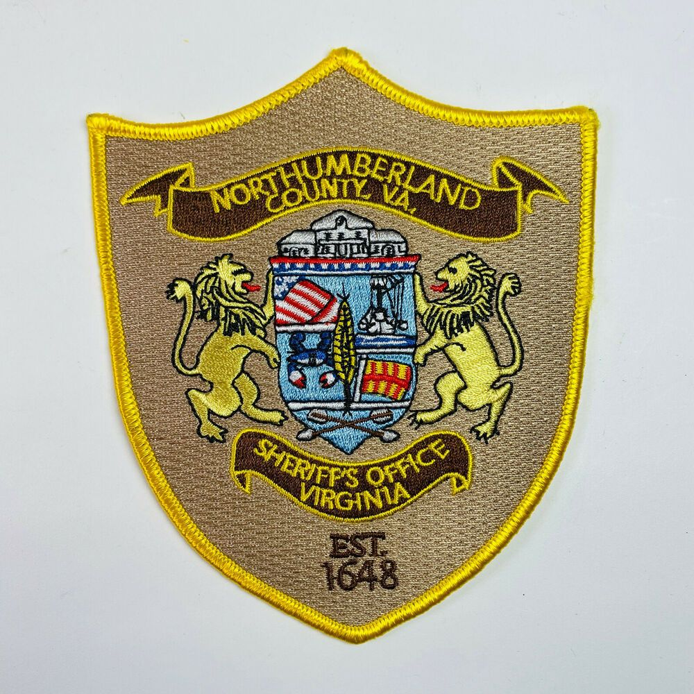 Northumberland County Sheriff Virginia Va Patch In 2021 Northumberland County County Sheriffs Rockingham County