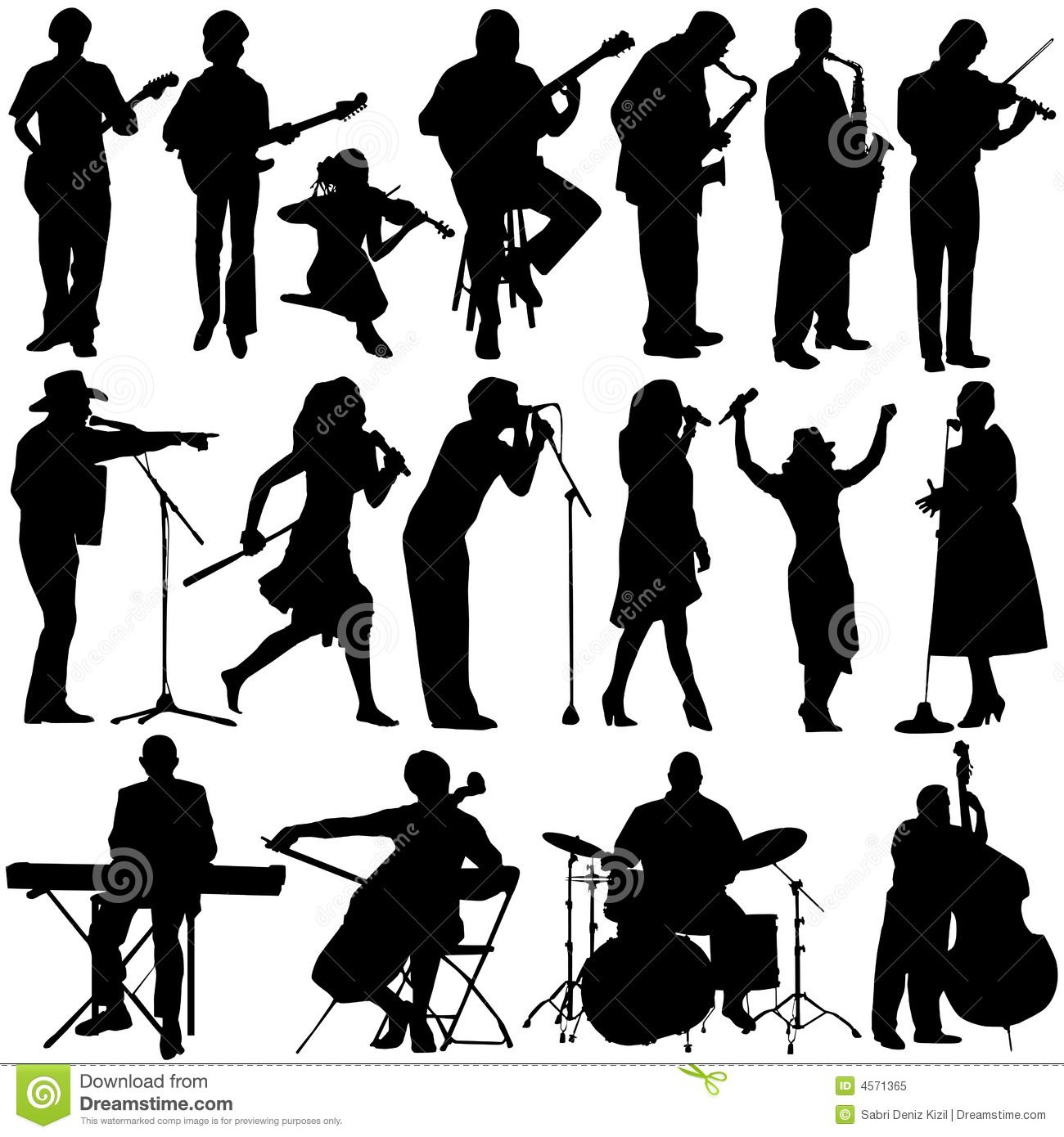 jazz musicians silhouettes google search simple silhouette cameo