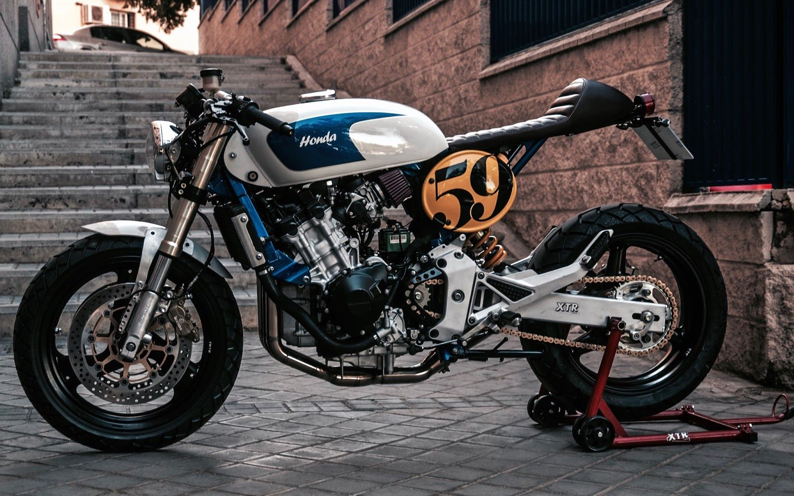 Pepos Sake Racer Custom Bikes Honda Cafe Racer Motorcycle