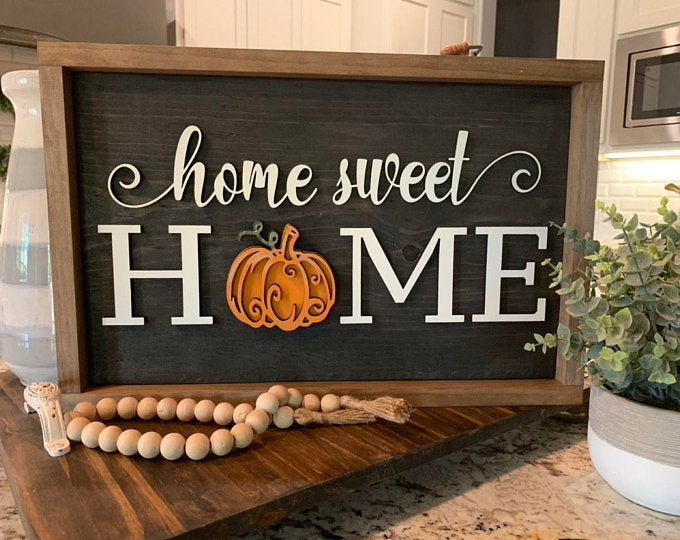 36+ Wooden home sign with interchangeable seasonal ideas in 2021