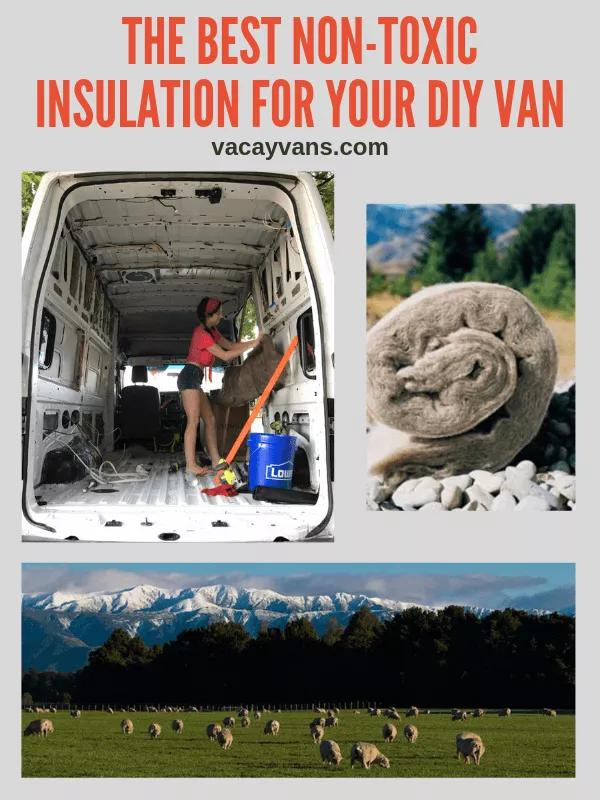The Best Natural Insulation for Your DIY Camper Van ...