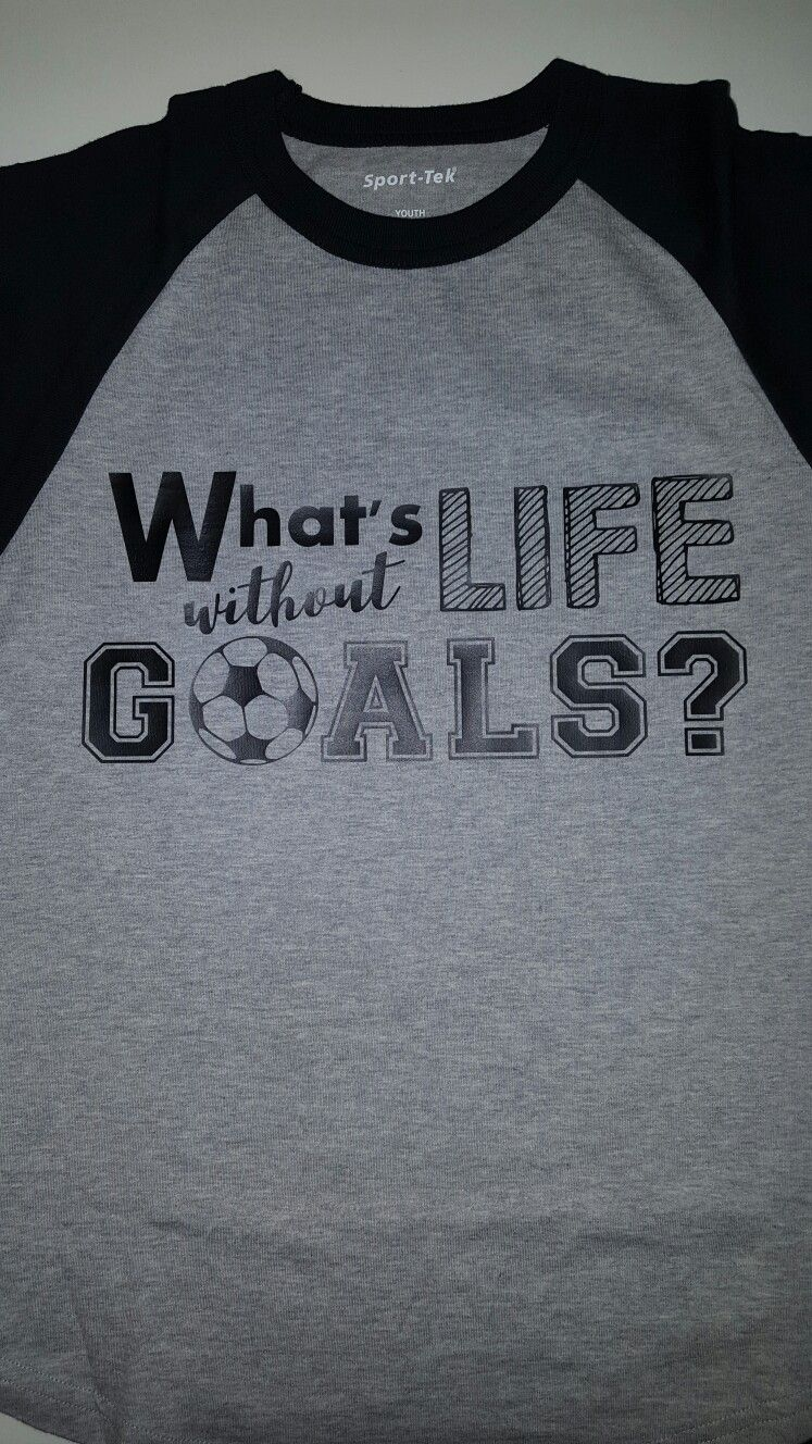 Soccer Vinyl Shirt Design Handmade Pinterest Vinyl Shirts