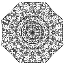 Abstract Coloring Pages Free Printable Fun activities Adult