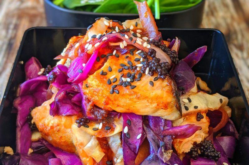 Bridgets healthy salmon teriyaki recipe in 2020