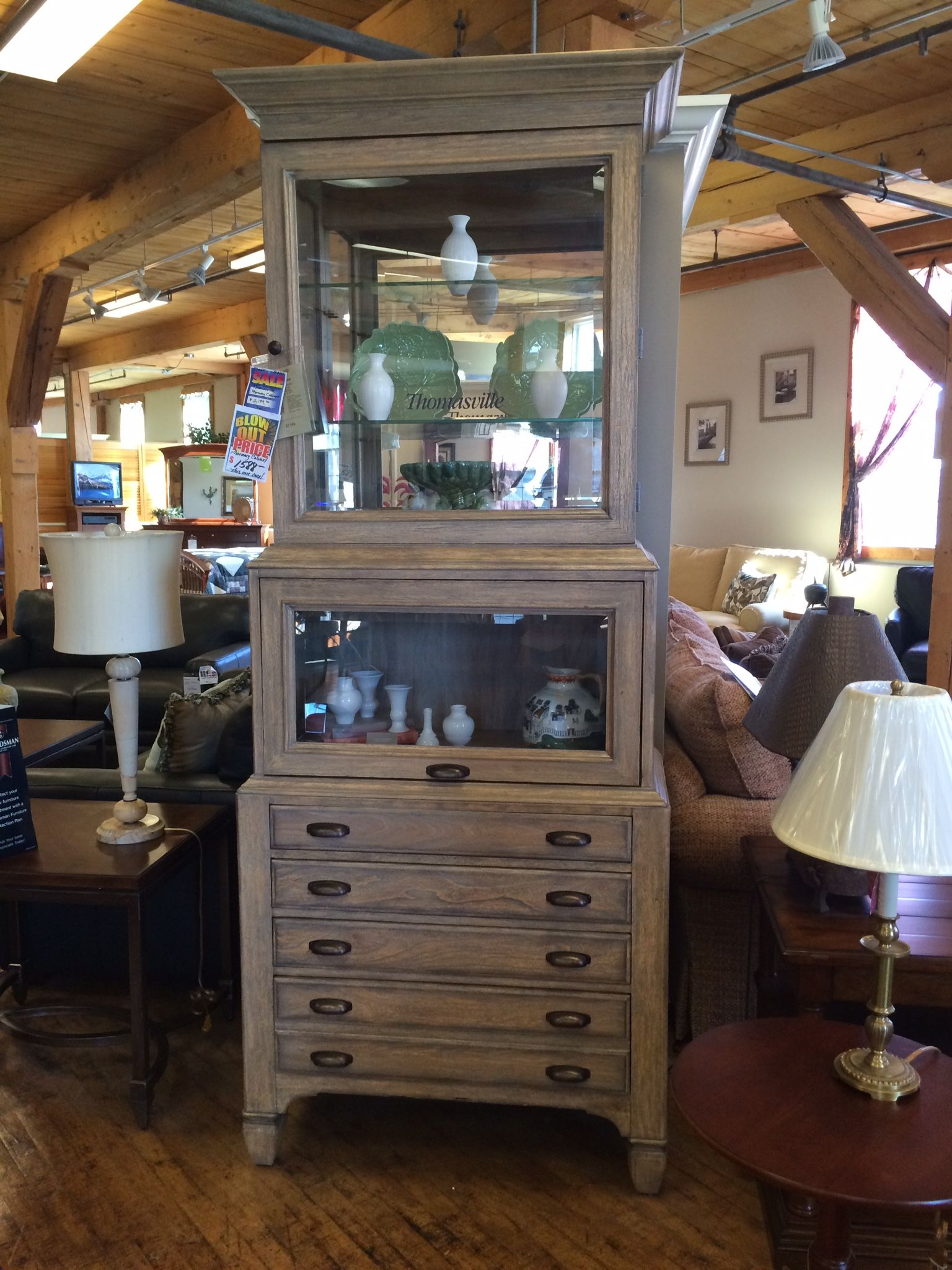 Pharmacy cabinet made by Thomasville purchased for the ...