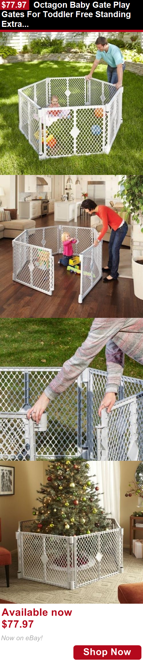 Baby Play Pens And Play Yards Octagon Baby Gate Play Gates For