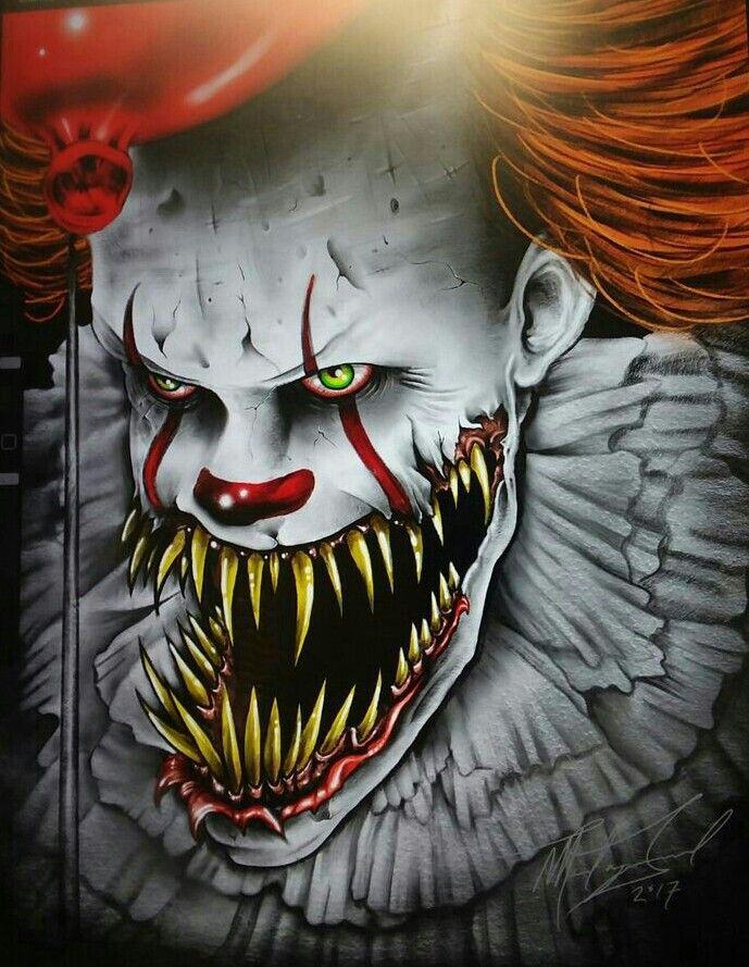 Behind The Clowns Face Mounstros Zeichnungen Y Gruselig