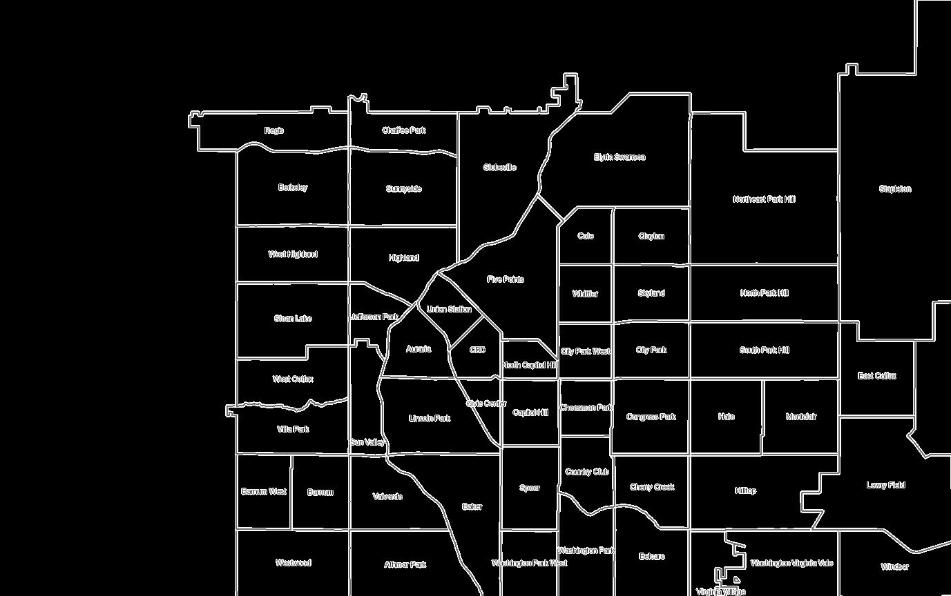 Denver Maps